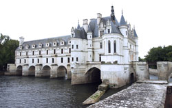 Photograph of the Chateau Chenonceau on the river Cher in Chenonceaux, France. Photo by Danielle MacDonald